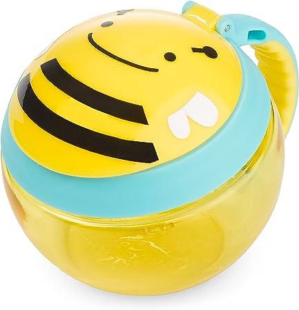 Imagen deRecipiente para tentempiés de Skip Hop para niños, diseño de mono amarillo Bee Talla:24 oz