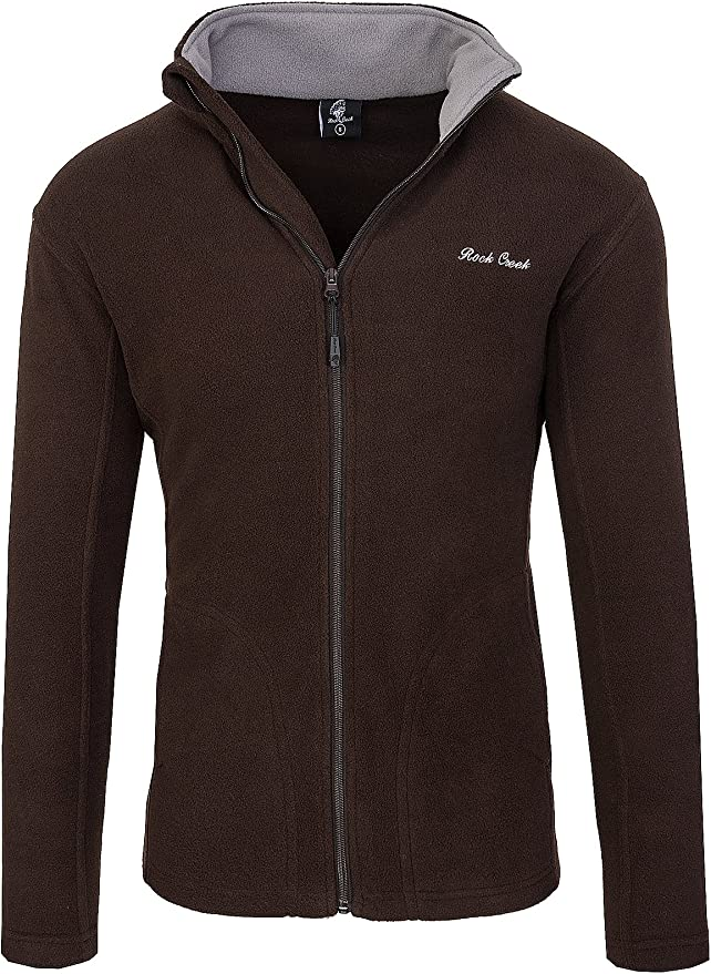 ALPIDEX Fleecejacke Herren leichte Jacke Full Zip: