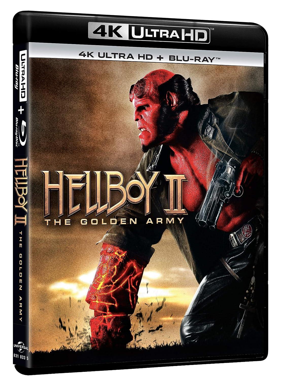 Hellboy - The Golden Army 4K Uhd+Blu-Ray Italia Blu-ray ...