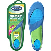 Dr. Scholl's SPORT Insoles // Superior Shock Absorption and Arch Support to Reduce Muscle Fatigue and Stress on Lower…