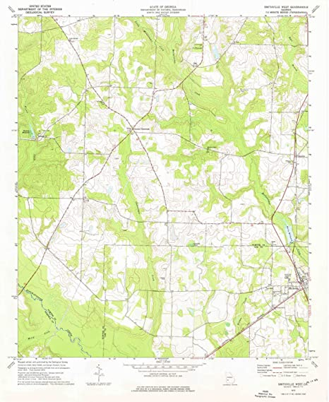 Amazon Com Yellowmaps Smithville West Ga Topo Map 1 24000 Scale