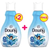 Downy Valley Dew Fabric Softener, 1 Liter - Pack of 3