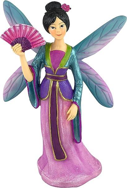 Miniature Garden Fairy Kai the Beautiful Asia Miniature Fairy for your Fairy Garden