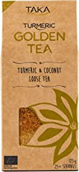 Taka Turmeric Organic Golden Tea Loose Leaf, 125 g