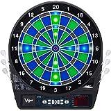 Viper Ion Electronic Dartboard, Illuminated Segments, Light Based Games, Green And Blue Segment Colors, Ultra Thin…