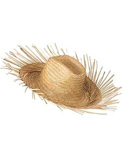 Cappello di paglia Hawaii adulto  Amazon.it  Giochi e giocattoli 7408d9931d26