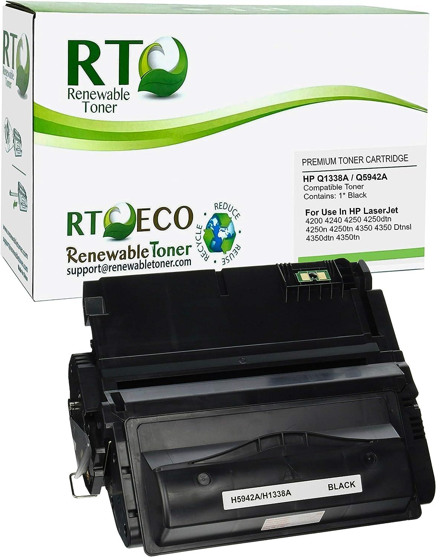 Renewable Toner Compatible Toner Cartridge Replacement for HP Q1338A 38A 42A Q5942A LaserJet 4200 4240 4250