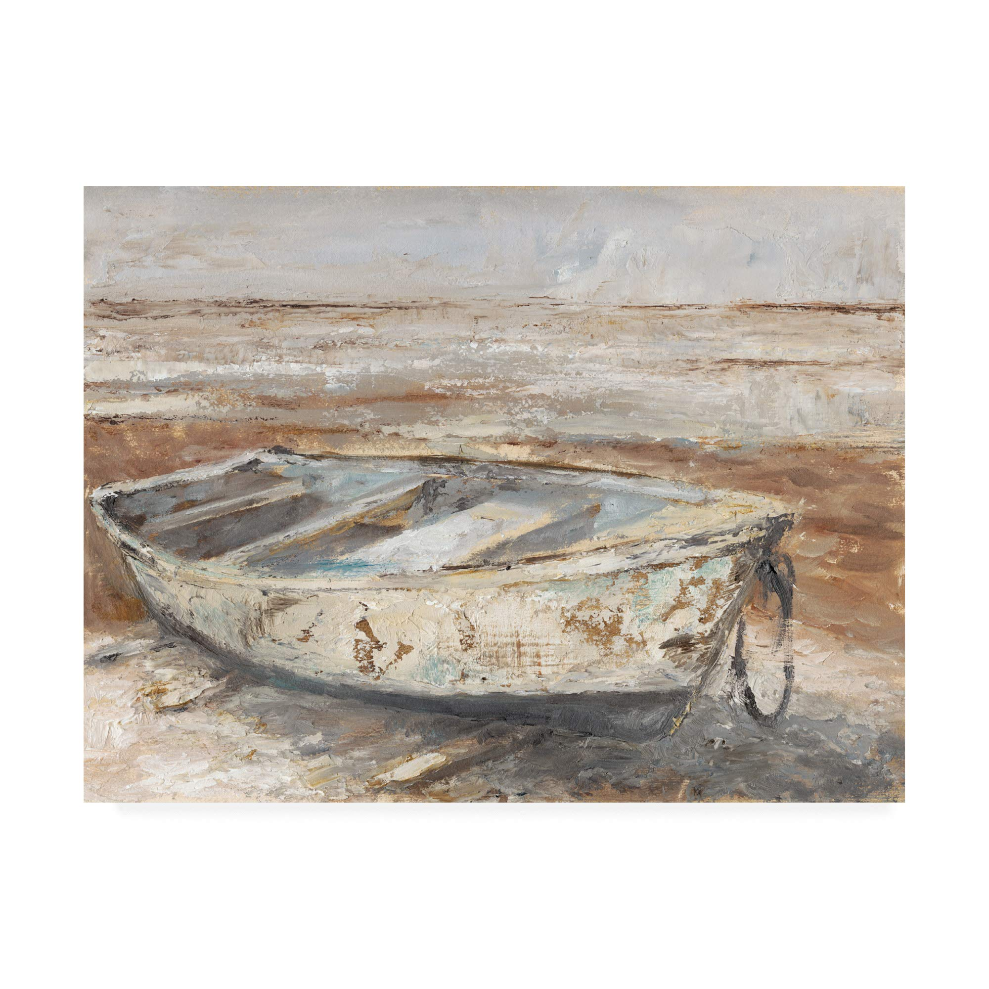 Trademark Fine Art Weathered Rowboat I by Ethan Harper, 18x24 by Trademark Fine Art