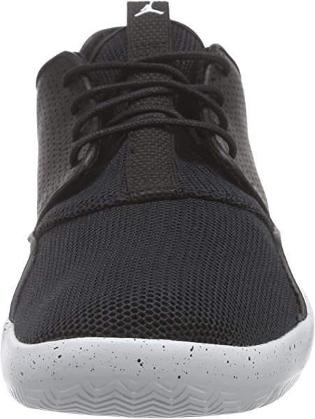 e7ef29d8cf03 Jordan Kidss Jordan Eclipse BG Black White Pure Platinum Running Shoe 4  Kids US