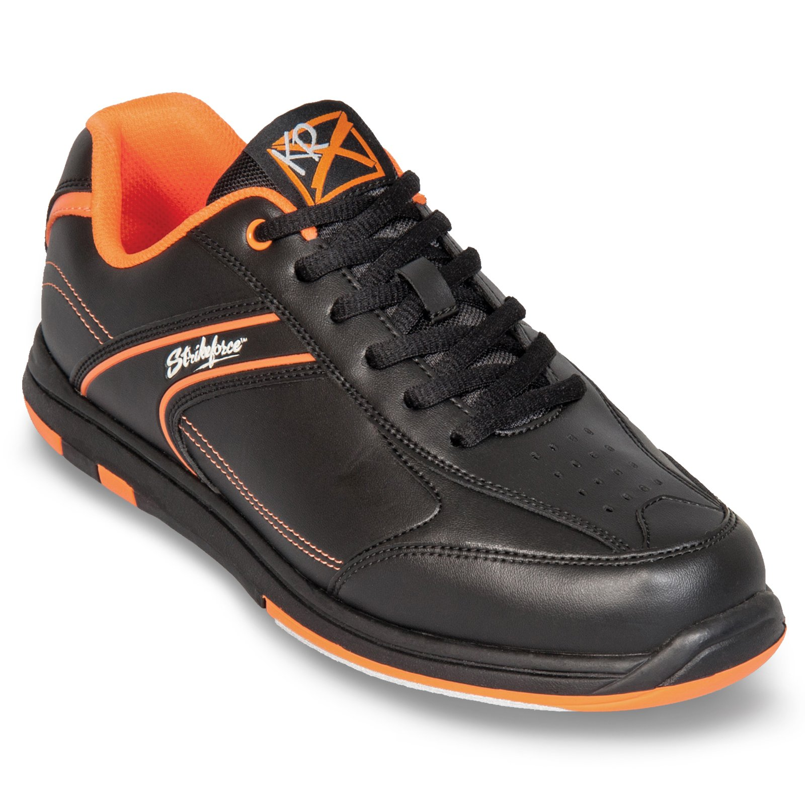 Strikeforce Flyer Black/Oragne Bowling Shoes Men's Size 10 by KR Strikeforce (Image #3)