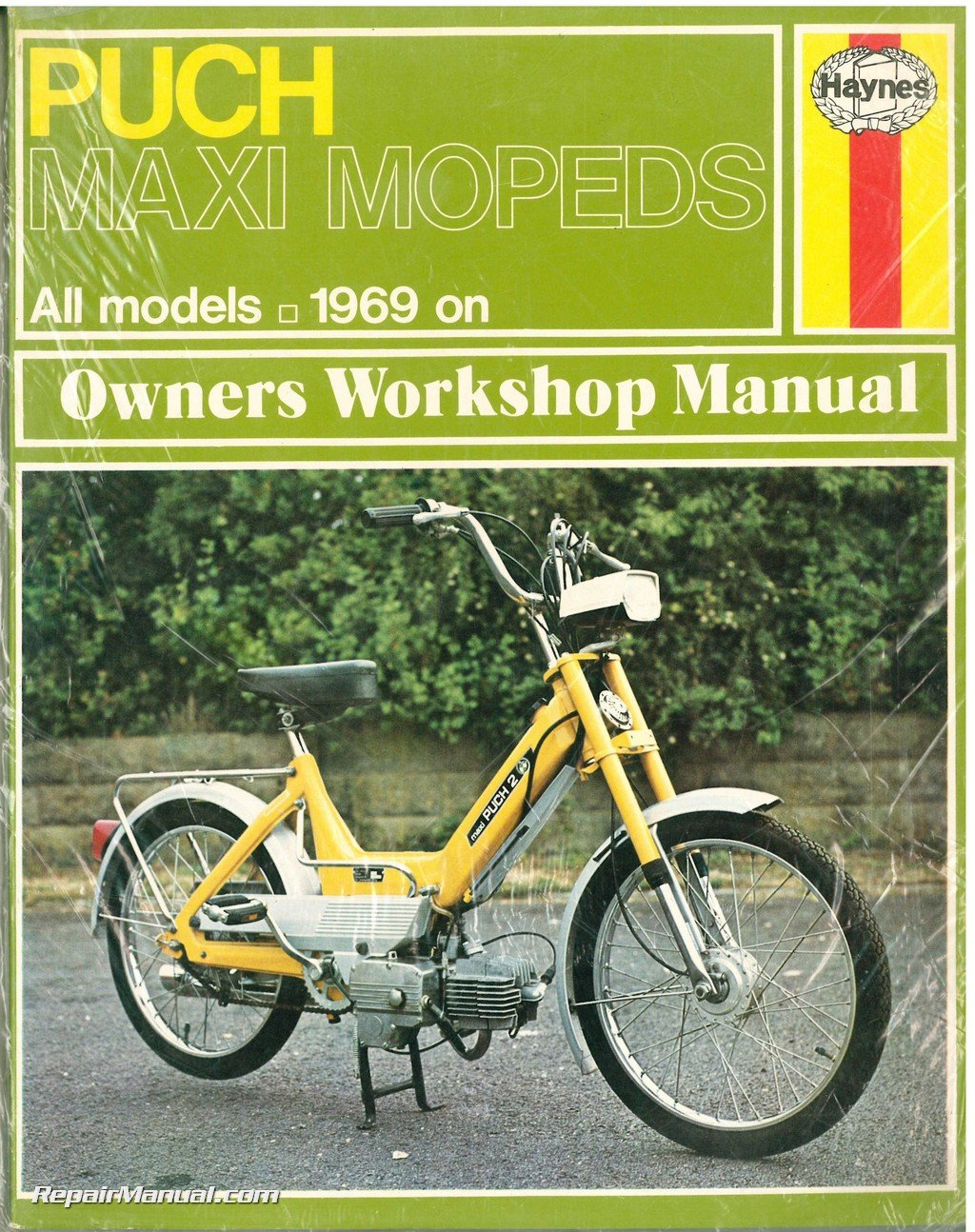 H107 Puch Maxi Moped Owner's Workshop Manual: Manufacturer