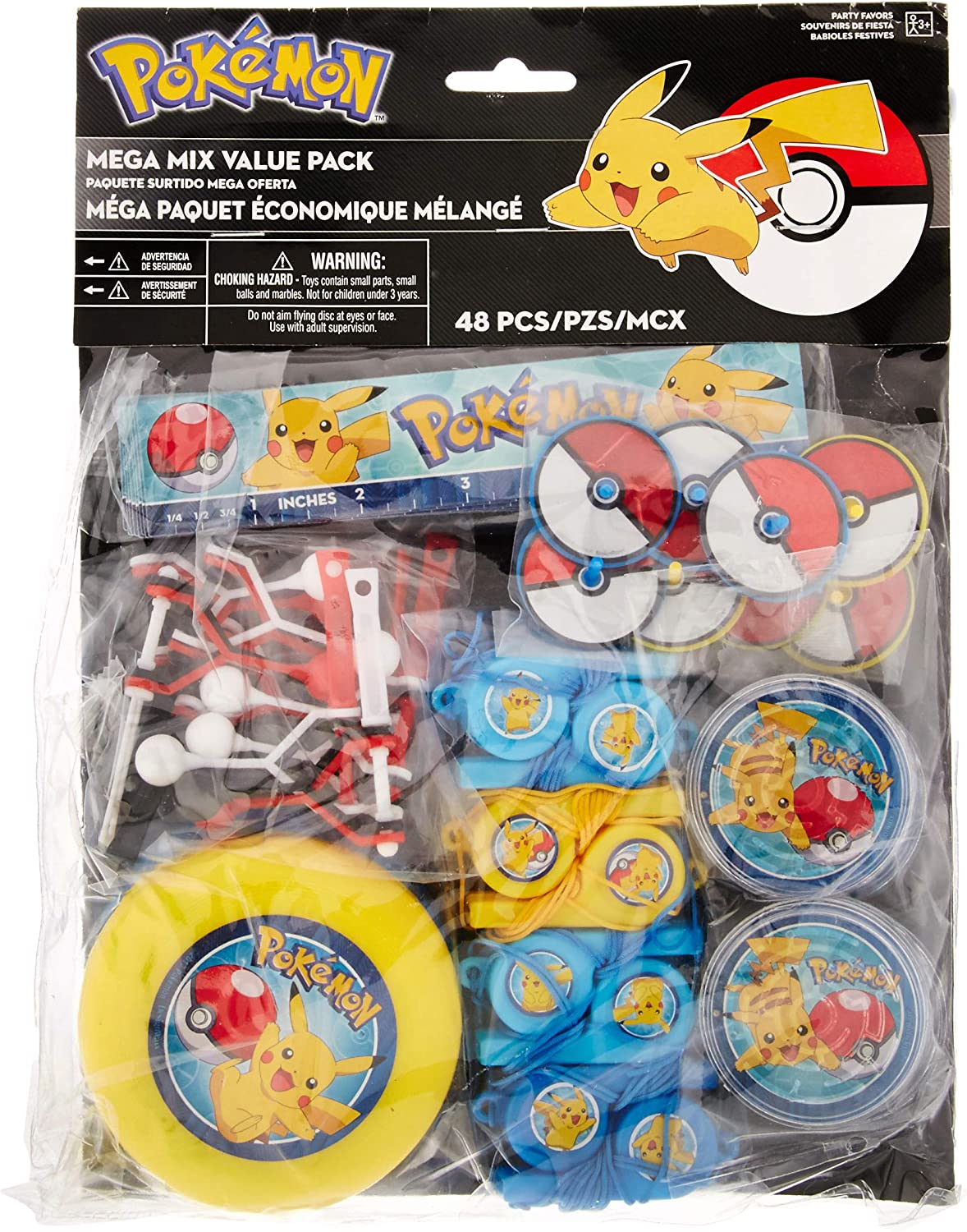 Amazon.com: Pokemon Core Mega Mix Value Pack 48 ct [contiene ...