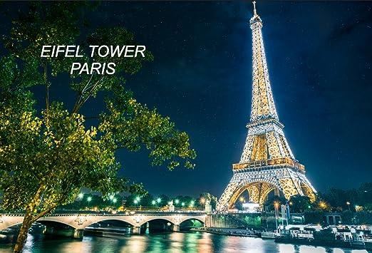 Francia Francés frigorífico imanes para nevera, City: Eifel Towel ...