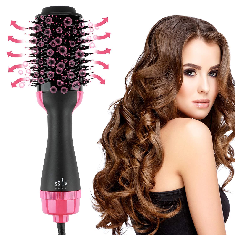 Hair Dryer And Volumizer Hot Air Brush,Hair Brush Dryer,Black