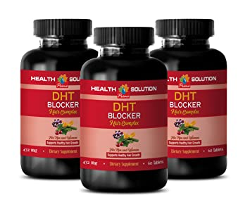 Amazon Com Hair Loss Products Vitamins Dht Blocker Hair Complex
