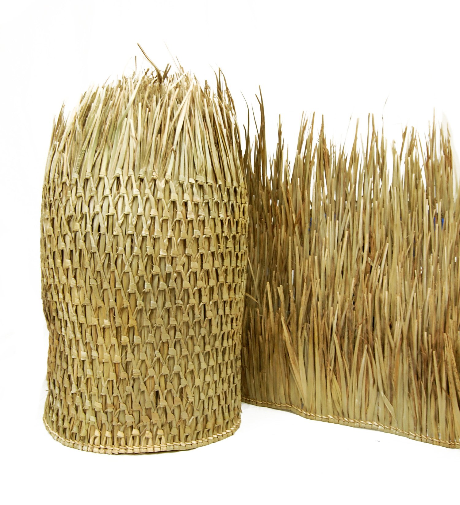 Mexican Palm Thatch Runner Roll (6 Pack) 30'' H x 8' L
