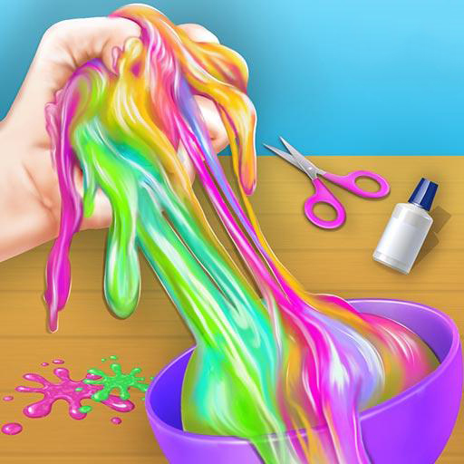DIY Fluffy Slime - Jigsaw Puzzle Game