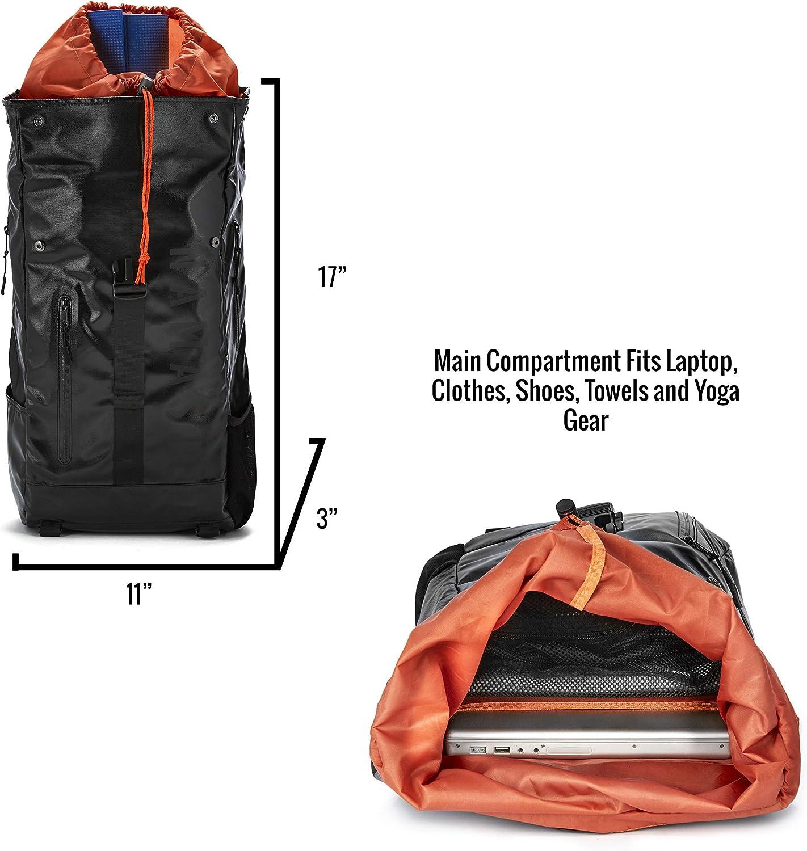 Amazon.com: Masaya - Mochila de yoga con bolsas para zapatos ...