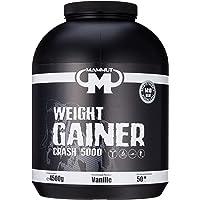 Mammut - Weight Gainer Crash 5000 Vanille Kohlenhydrate Masseaufbau Kreatin, 4500 g Dose
