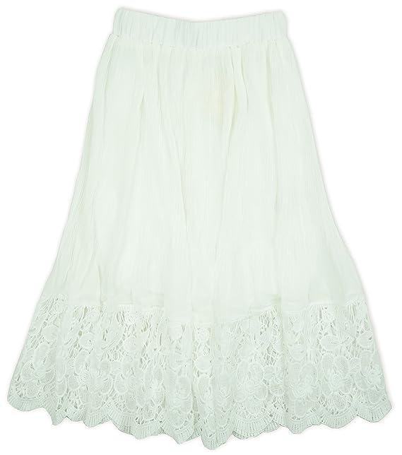 88b6a9cbf3bfa8 Kids Star - Gonna - ragazza Ivory 13-14 Anni: Amazon.it: Abbigliamento