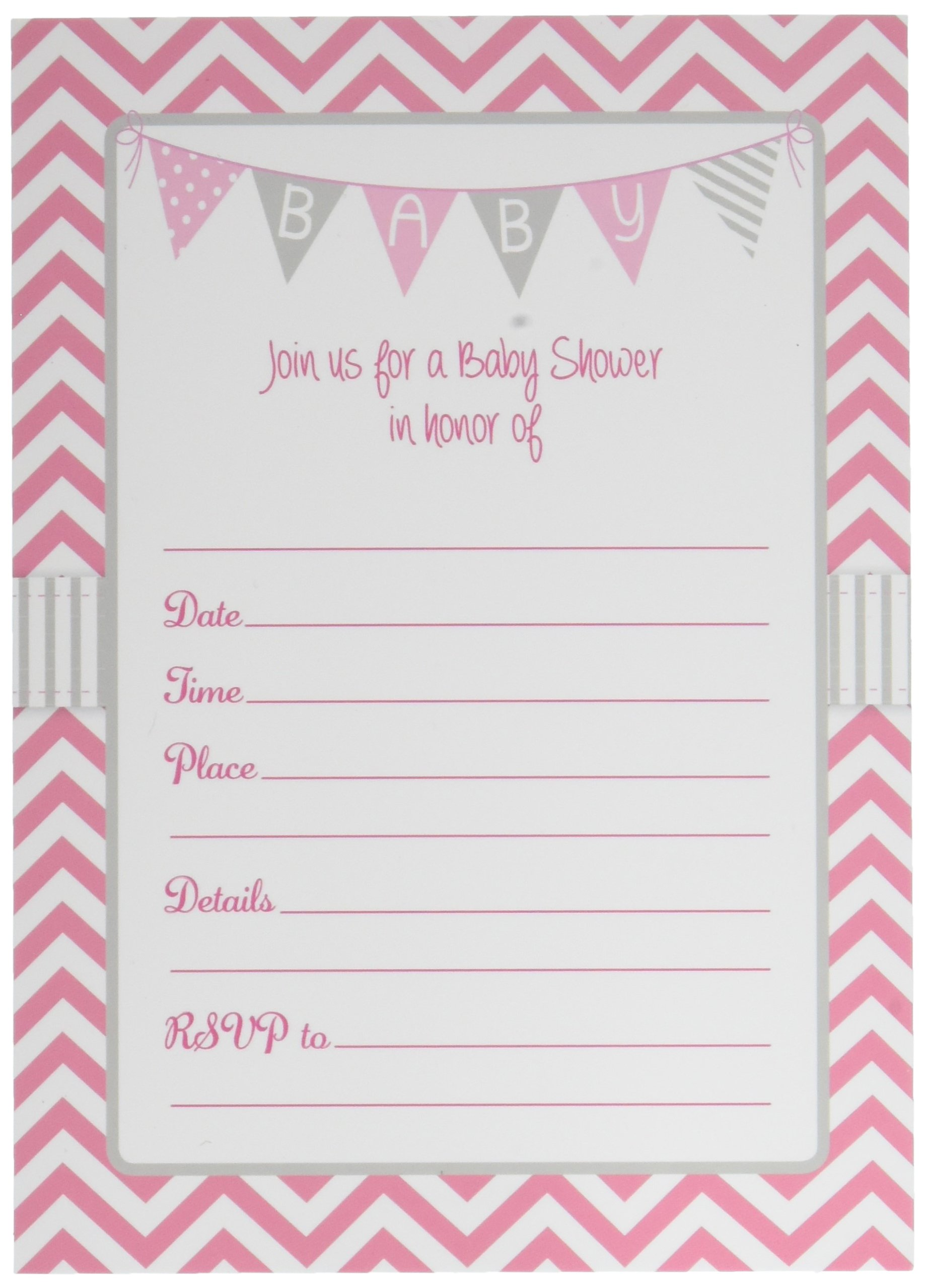 girl pin gold shower its invitation pink invitations and baby sophisticatedswan invites by a for