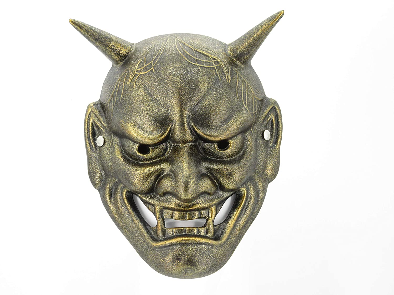 Hannya Mask Bronze Color