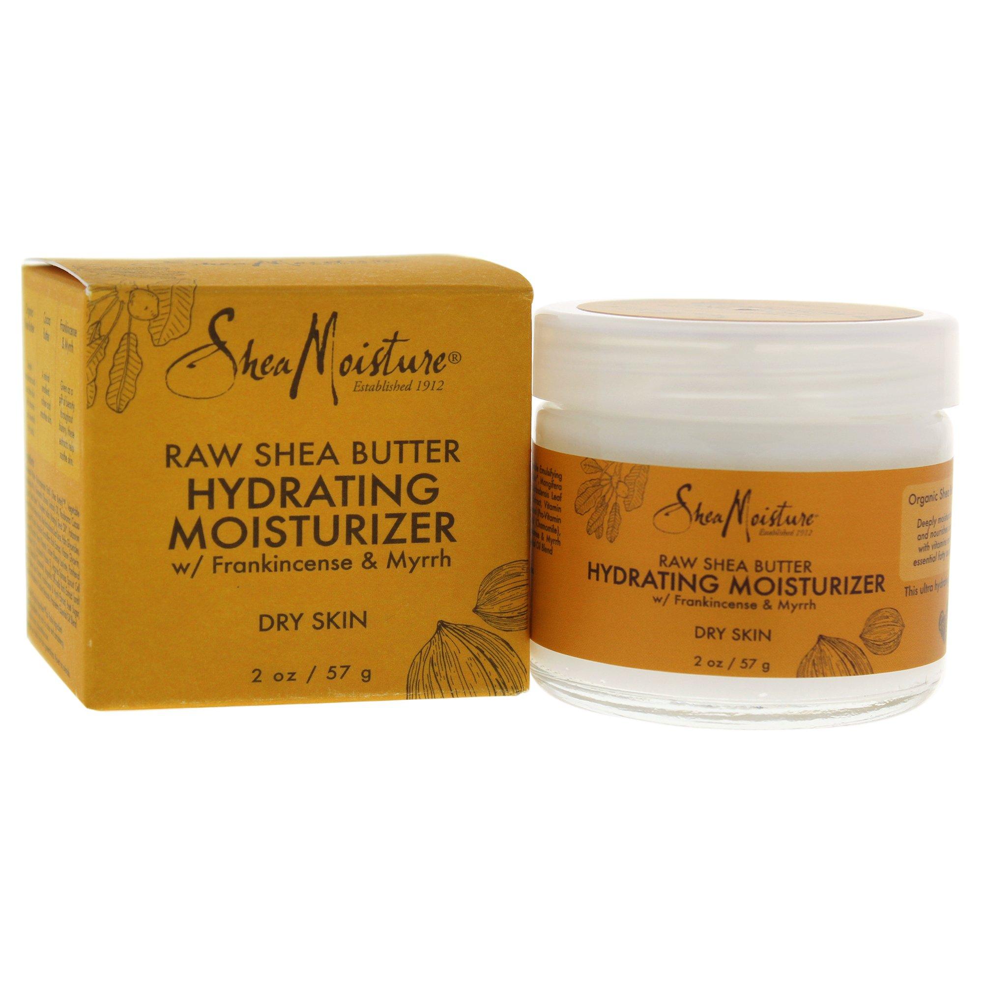 SheaMoisture Raw Shea Butter Hydrating Moisturizer, 2 Ounce
