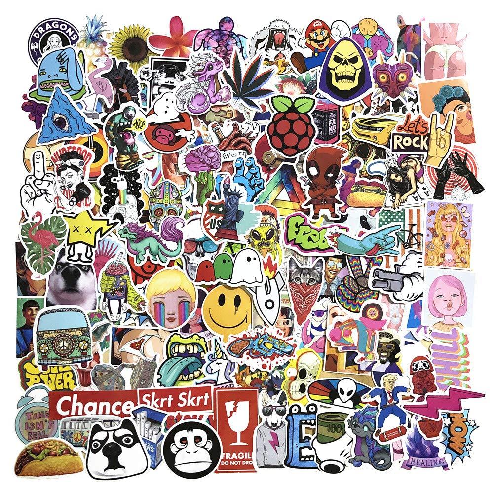 Stickers Calcos 200 un. Surtidos Origen U.S.A. (7FMJTBX2)