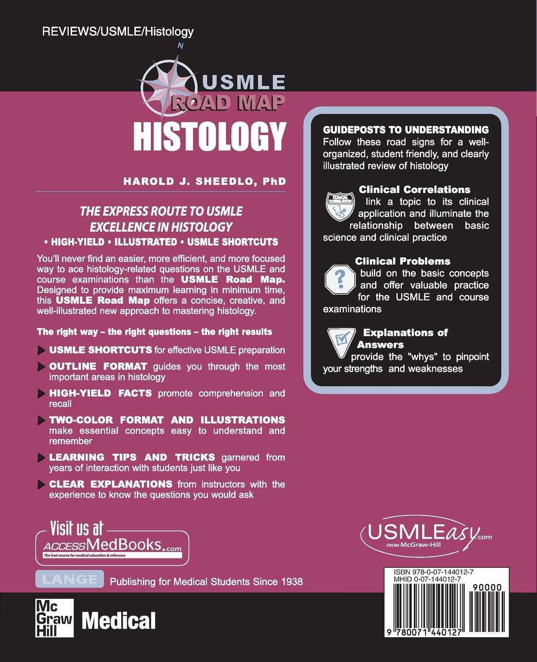 Usmle Road Map: Histology