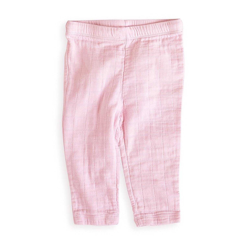 aden + anais Lovely Pantalons de Pyjama Solid Pink 6-9 Mois 2661G