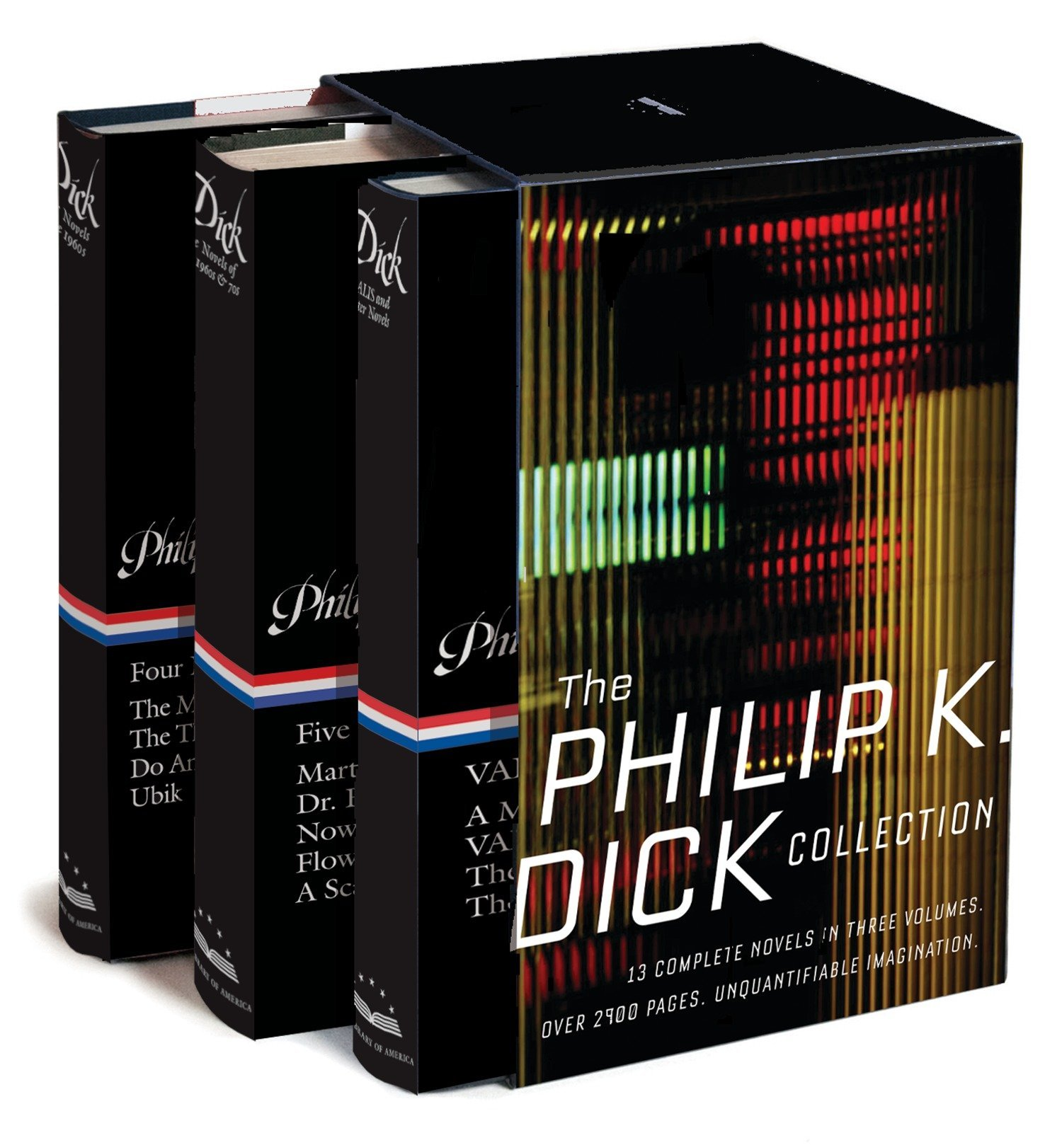 The Philip K. Dick Collection: A Library of America Boxed Set by Library of America