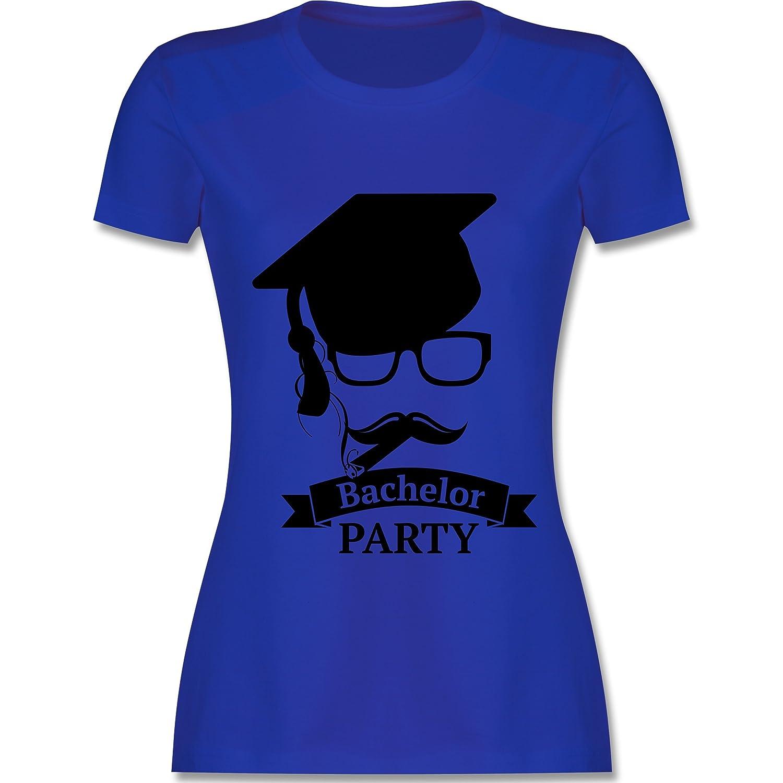 Abi & Abschluss - Bachelor Party Abschluss Studium - Damen T-Shirt  Rundhals: Shirtracer: Amazon.de: Bekleidung