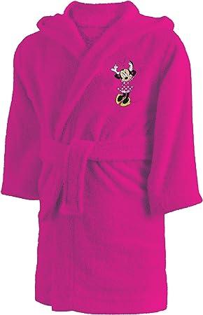 CTI 043755 Minnie Albornoz corazón 6/8 años algodón Rosa: Amazon ...