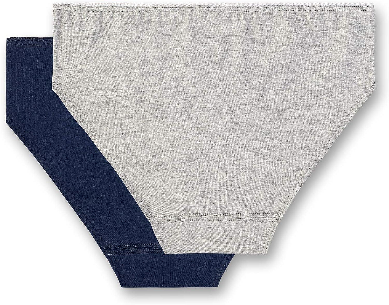 Sanetta M/ädchen Rioslip im Doppelpack Unterhose