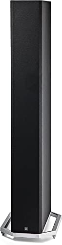 Definitive Technology BP-9060 Tower Speaker Built-in Powered 10 Subwoofer for Home Theater Systems High-Performance Front and Rear Arrays Optional Dolby Surround Sound Height Elevation, Black