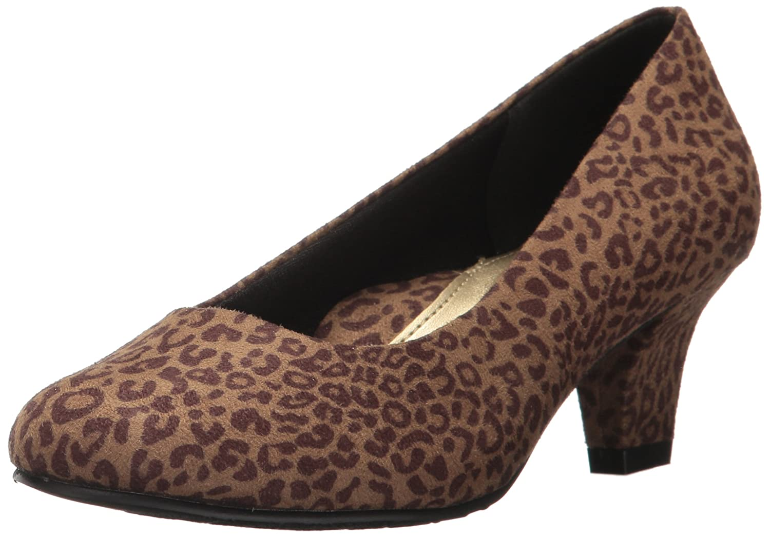 Hush Puppies Women's Gail 6 Shoes B01MTC630Y 6 Gail W US|Tan Leopard 10c2e1
