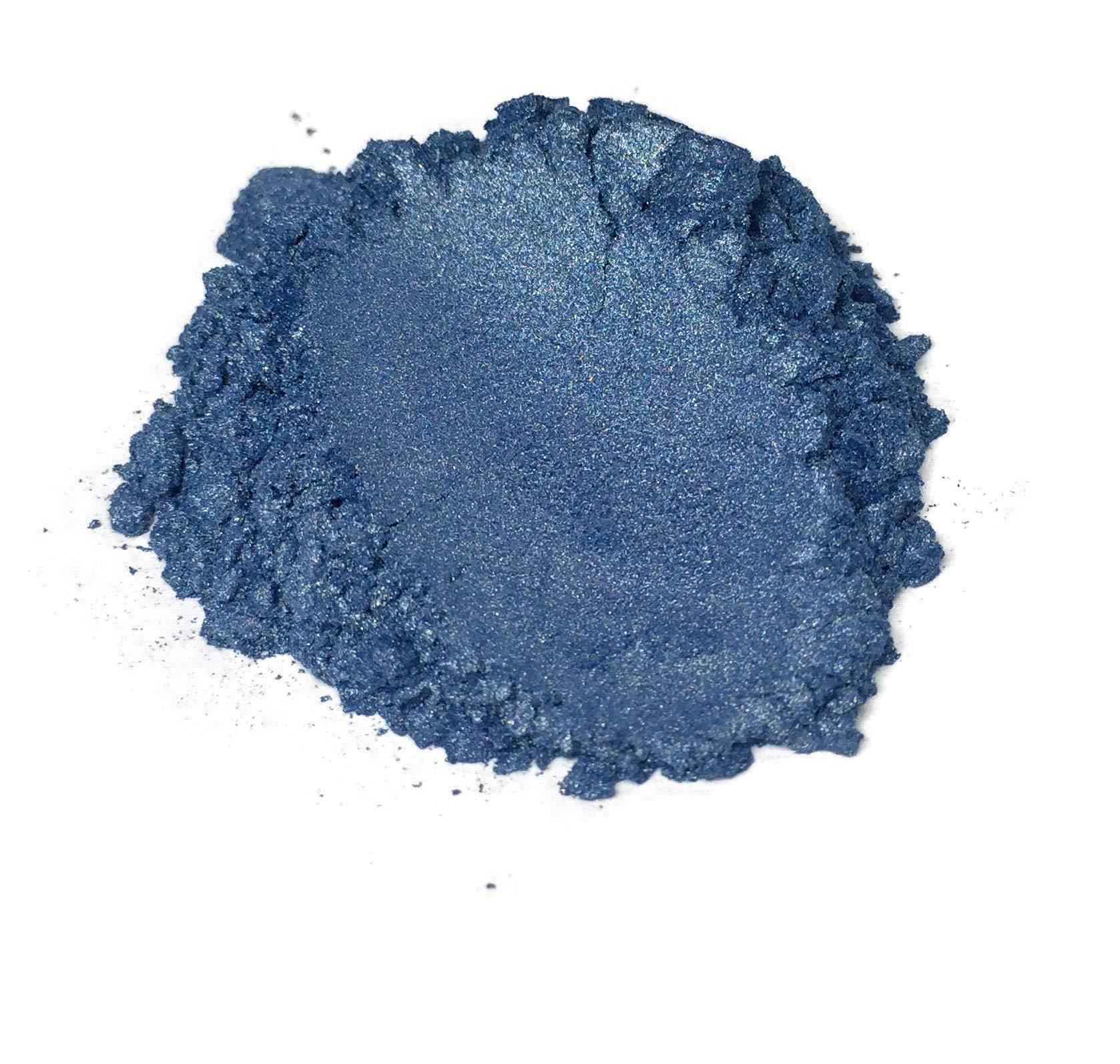 42g/1.5oz''GOLDEN INDIGO'' Mica Powder Pigment (Epoxy,Paint,Color,Art) Black Diamond Pigments