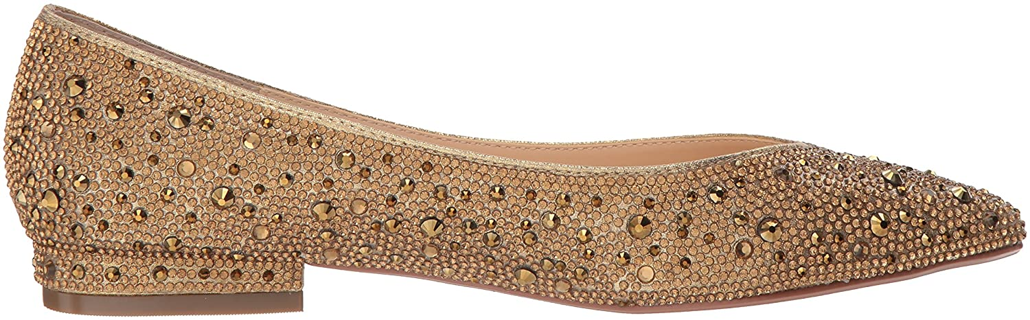 Blue by Betsey Flat Johnson Women's Sb-Jude Ballet Flat Betsey B079PD3Q9D 9.5 B(M) US|Gold cc3b56