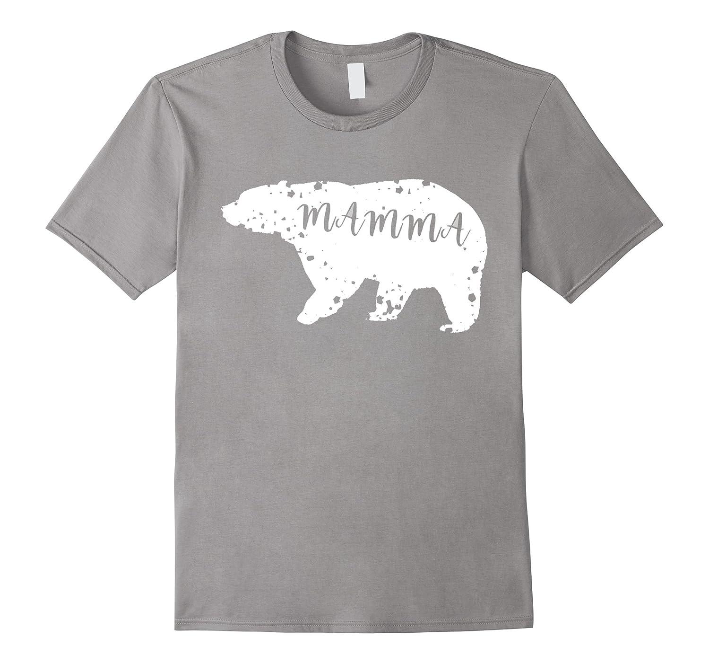Mamma Bear Mom Gift T-Shirt-TH