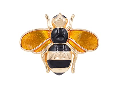ce6a19894 Small Island Cute Enamel Plated Bee Brooch Dainty Jewellery Can be ...