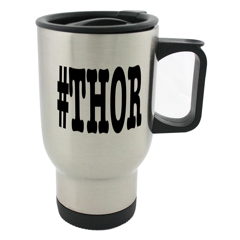 Apodos de Thor apodo Hashtag 14 oz taza inoxidable de acero inoxidable taza 0210ea