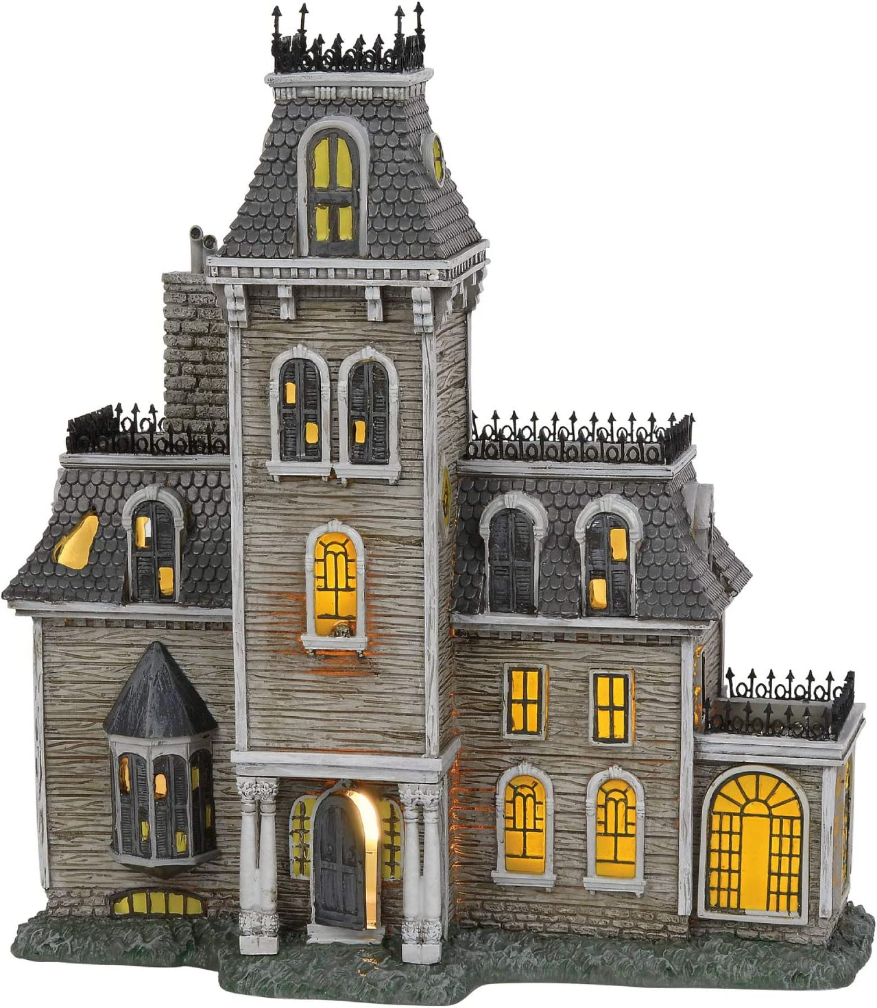 "Department56 Addams Family Village House Lit Building, 10.87"", Multicolor"