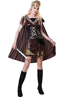 Corsé, falda, 2 pulseras, el tanque Gladiator-traje marrón/negro ...