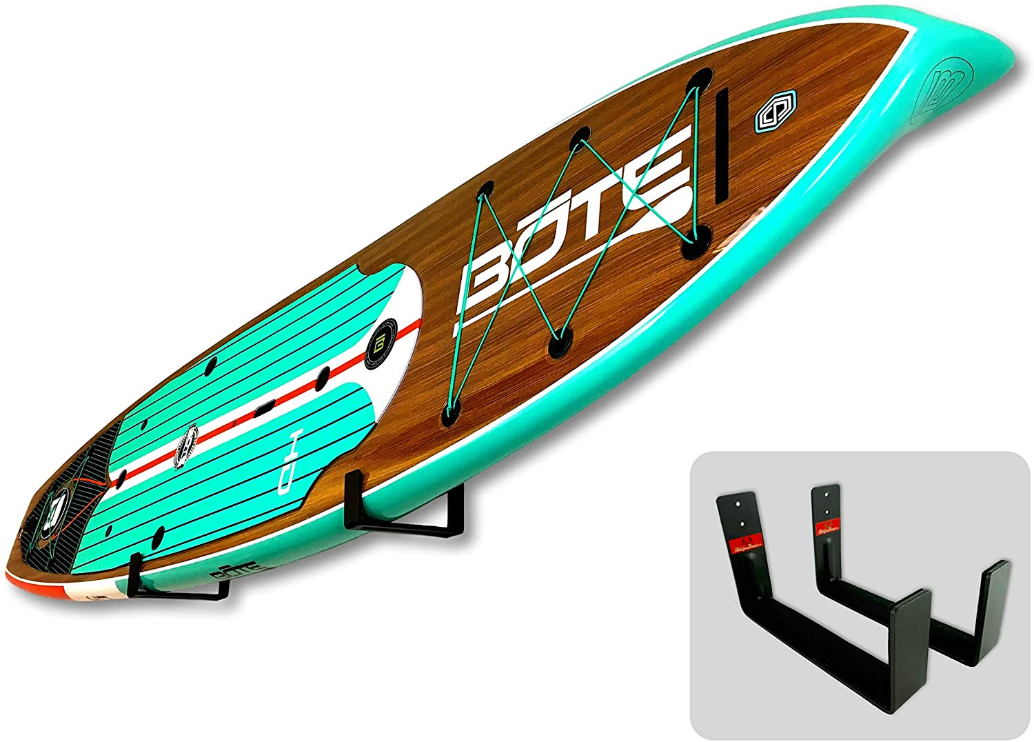 StoreYourBoard Naked SUP, The Original Minimalist Paddleboard Wall Storage Rack