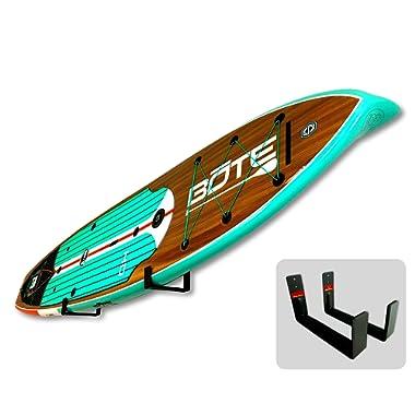 StoreYourBoard Naked SUP | The Original Minimalist Paddleboard Wall Storage Rack