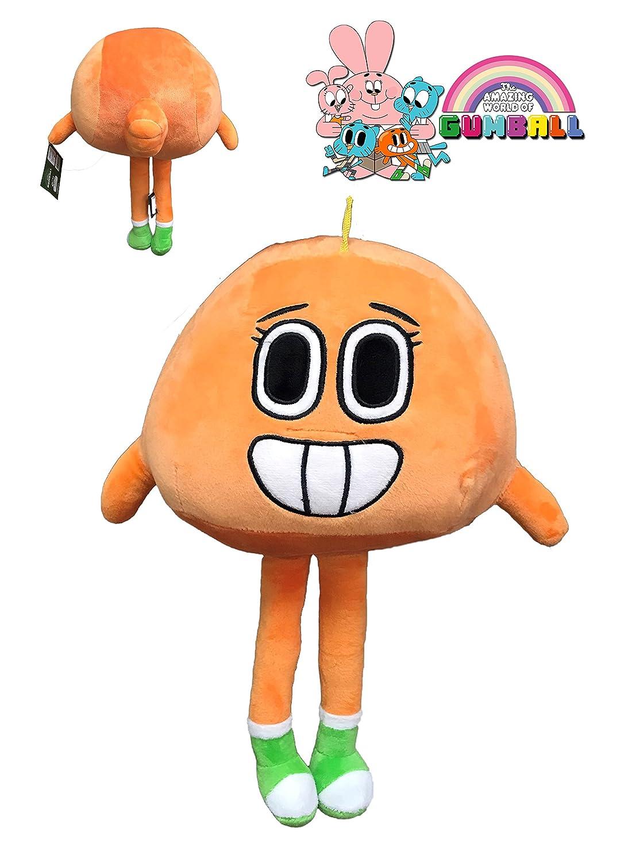GUMBALLのぬいぐるみ - ぬいぐるみダーウィンオレンジキャラクター12