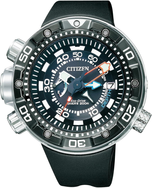 [シチズン]CITIZEN 腕時計 PROMASTER プロマスター AQUALAND 本格派 200M-Diver's ダイバーズ Eco-Drive エコドライブ BN2024-05E メンズ B00K6YB8WY