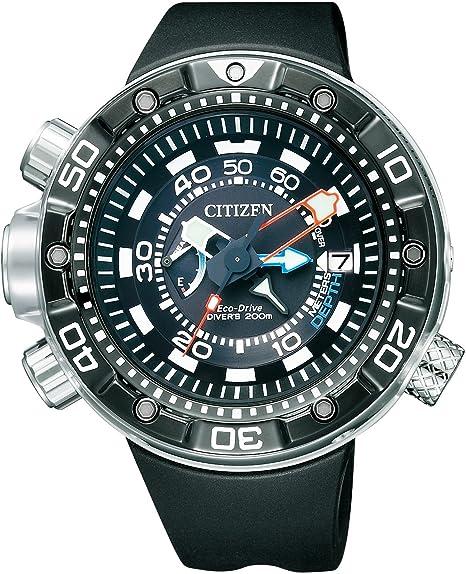 Citizen BN2024-05E - Reloj, Correa de Goma Color Negro: Amazon.es: Relojes