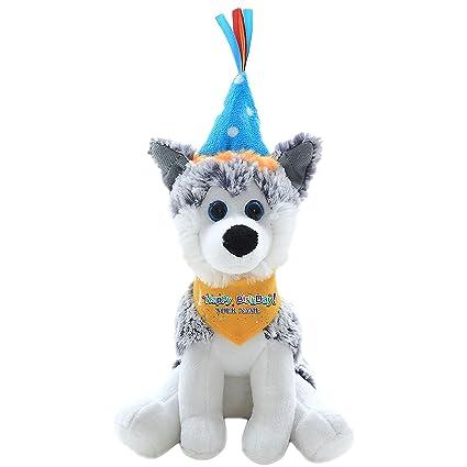 Plushland Custom Text Puppy Dog 8