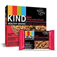 30-Count Kind Healthy Dark Chocolate Chunk Grains Bars 1.2oz